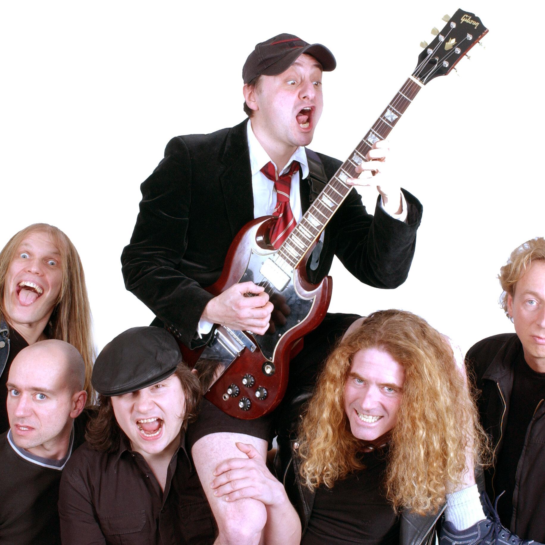 "AB/CD – ""Bon Scott meets Brian Johnson""  Deutschlands AC/DC Coverband Nummer 1"