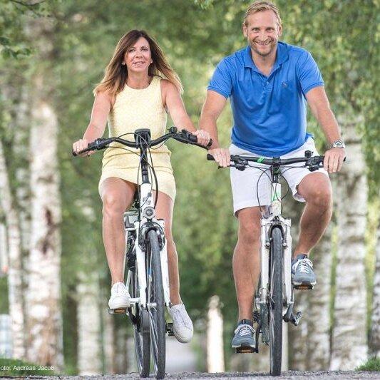 Halbtages-Fahrradtour: Über Tuntenhausen und Jakobsberg nach Dred
