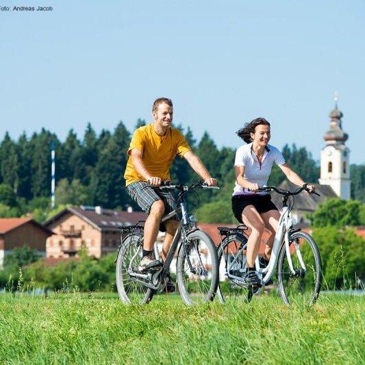 Ganztages-Fahrradtour: Ins goldene Tal zur Leitzach