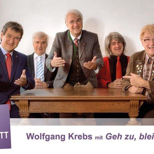 "Kabarett im Park: Wolfgang Krebs mit ""Geh zu, bleib da!"""