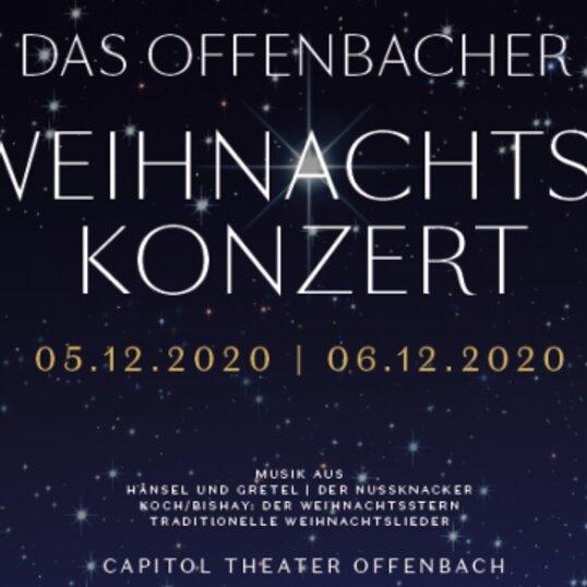Das Offenbacher Weihnachtskonzert mit dem Capitol Symphonie Orchester - ABSAGEN