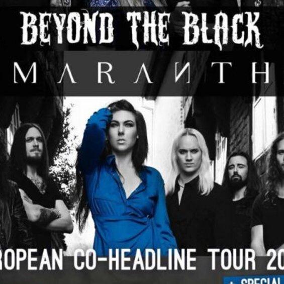 Beyond the Black & Amaranthe | European Co-Headline Tour - VERSCHOBEN auf 08.01.22