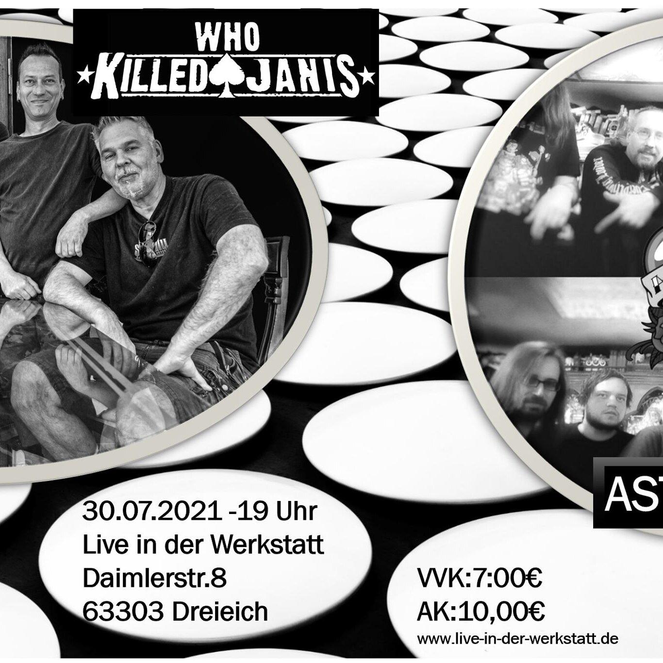 WKJ und AstroTrip live in der Werkstatt – 30.07.21