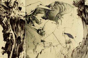 Der Künstler und seine Helden - Horst Janssen zeichnet sich durch die Kunstgeschichte