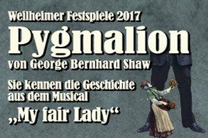 """""""Pygmalion""""  -  Weilheimer Festspiele 2017"""
