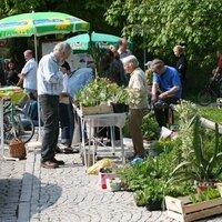 Pflanzenbörse und Radlflohmarkt