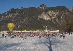 46. Internationaler König Ludwig Lauf 23 km König Ludwig Lauf, Preisverleihung um 11:30 Uhr am Ziel
