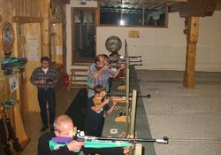 Luftgewehrschießen für Gäste