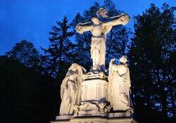 Standkonzert am Vorabend des Geburtstages von König Ludwig II.
