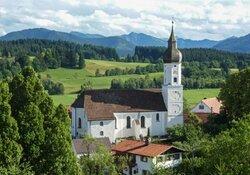 Erntedankgang zur Wieskirche