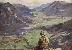 Angelicus Joseph Henfling - Maler und Mönch im Kloster Ettal