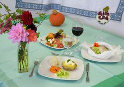 Mediterran genießen  -  Gesund ernähren