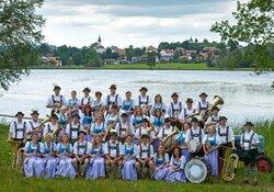 Neujahrskonzert der Blaskapelle Bad Bayersoien im Dorfstadl