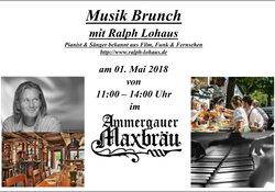 Musik Brunch mit Ralph Lohaus