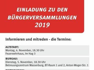 Bürgerversammlung  Reitmehring