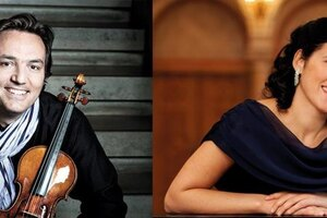 David Frühwirth (Violine), Milana Chernyavska (Klavier)