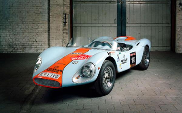 Colani GT, Baujahr 1964. Kunststoffkarosserie, 1962, Lutz (Luigi) Colani, 261 Bausätze zur Selbstmontage. Bildrechte: Volker Kreidler