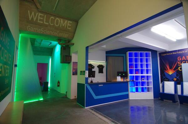 Eingangsbereich des Game Science Centers | GSC GameScienceCenter
