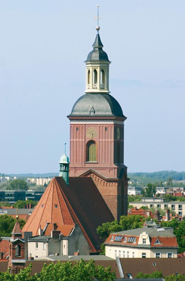 Himmel auf Erden – Der Kirchturm von St. Nikolai zu Spandau