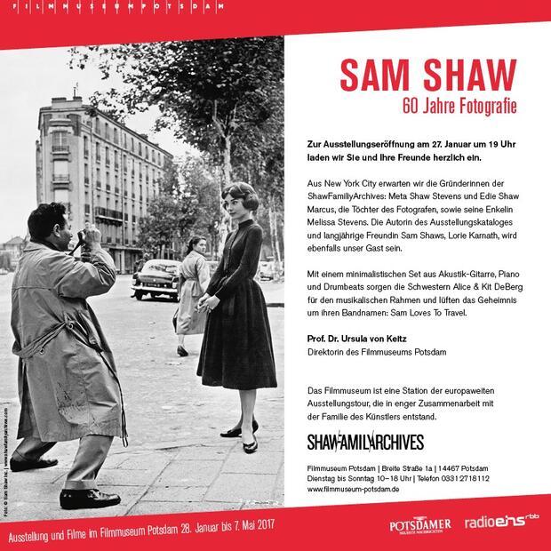 Sam Shaw - 60 Jahre Fotografie | promo