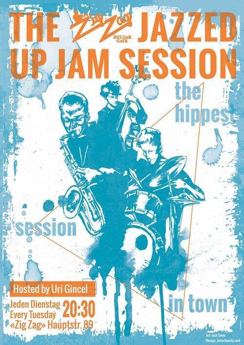 Jazzed up Jam Session | Promo