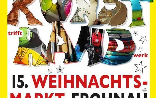 Kunsthandwerklicher Weihnachtsmarkt Frohnau   Kunsthand-Berlin