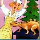 Frau Schaum und ein Dino unterm Weihnachtsbaum   Martin Pölzer