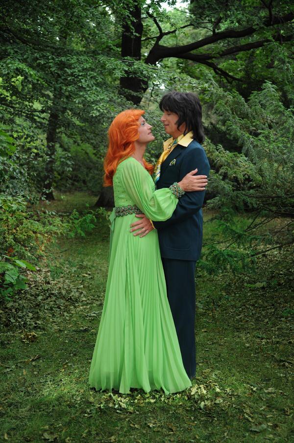 Ursli & Toni Pfister als Cindy & Bert | FOKKE
