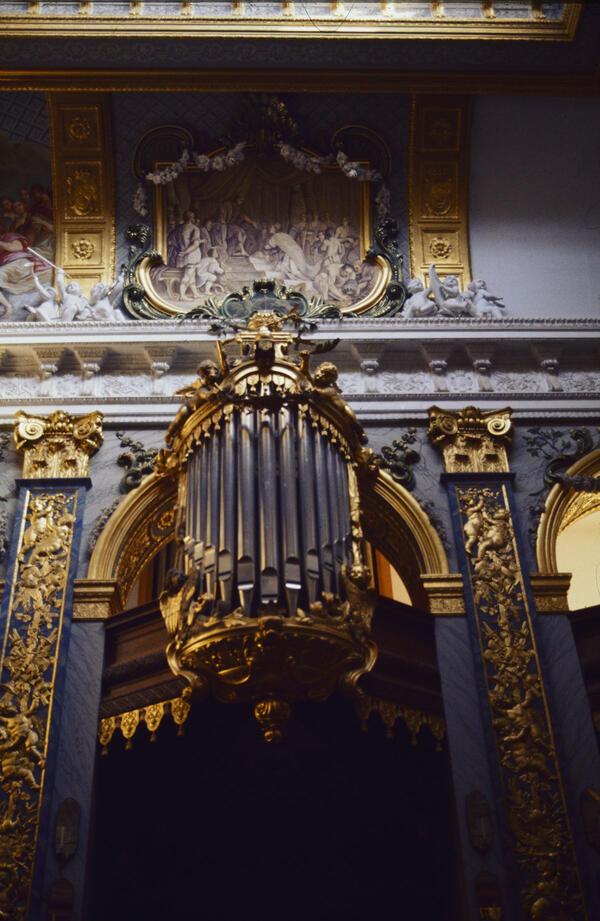 Orgel in der Schlosskapelle Charlottenburg | © SPSG