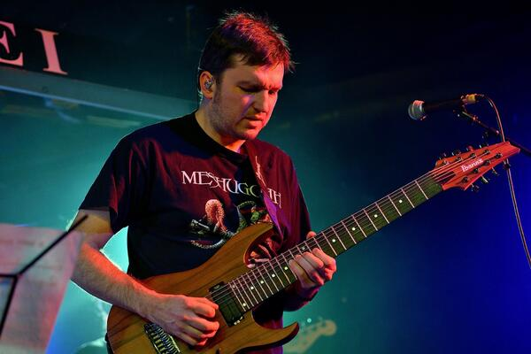 Jazz-Metal-Gitarrist, Komponist und Arrangeur Jan Zehrfeld   (c) Steffen Schindler