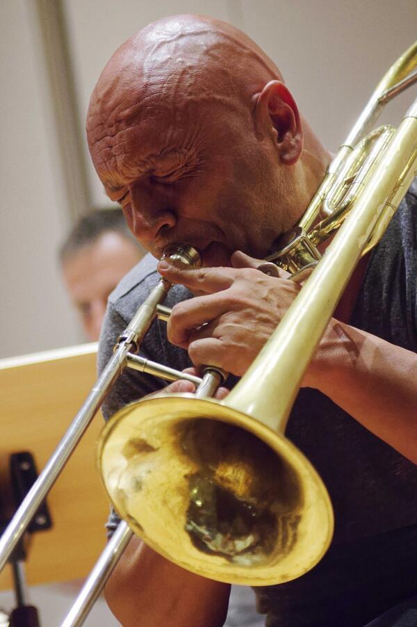 Geoffroy de Masure bei Jazz im MIM | © Thomas Neumann / neumgraf.de