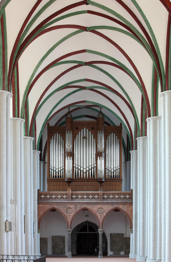 Orgel in der Nikolaikirche | © Stadtmuseum Berlin | Foto: Michael Setzpfandt