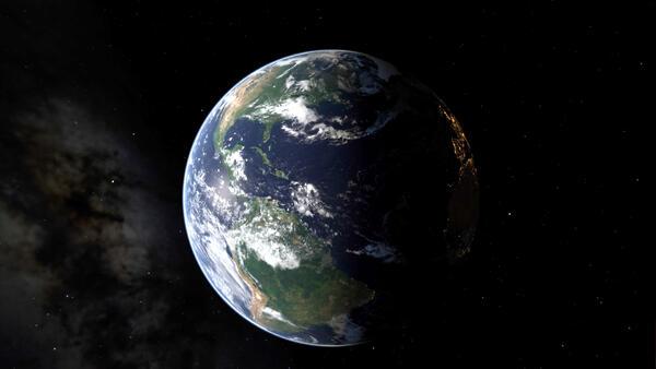 Bild © NASA EPIC Team