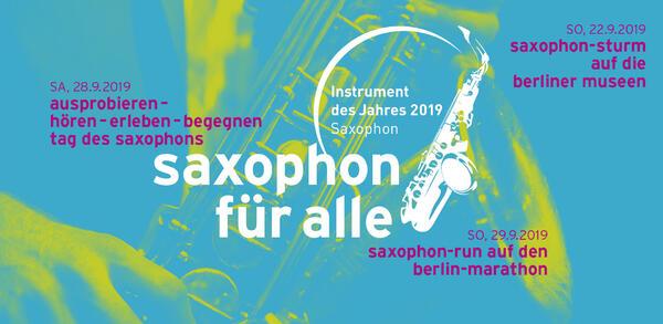 Saxophon-Sturm auf die Museen | © Landesmusikrat Berlin e.V.