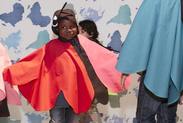 1, 2, 3, Kultummel - Bühne frei für Vielfalt | © Labyrinth Kindermuseum Berlin, Foto: Ragnar Schmuck