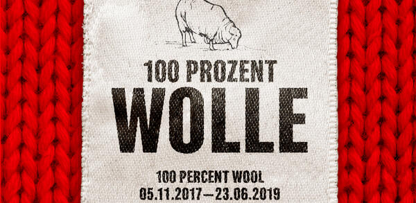 100 Prozent Wolle | © Gestaltung: SMITH