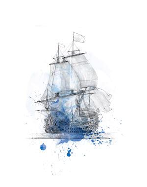 Architectura navalis – Schwimmender Barock | © BNF / Illustration: Schielprojekt