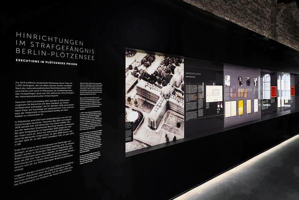 Ausstellung der Gedenkstätte Plötzensee   © Gedenkstätte Deutscher Widerstand
