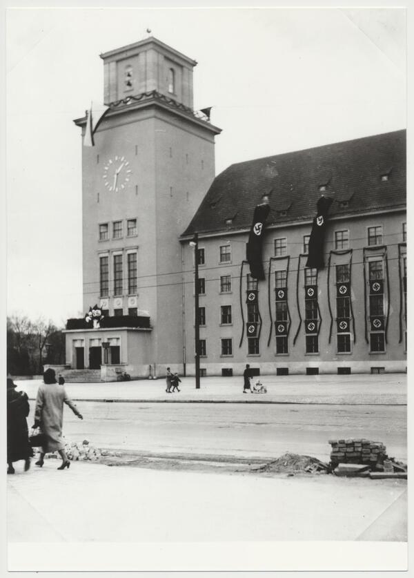 Das Rathaus Tempelhof 1939 | Archiv der Museen Tempelhof-Schöneberg