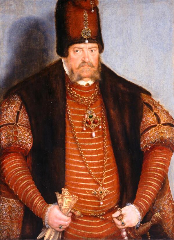 Lucas Cranach der Jüngere: Kurfürst Joachim II. von Brandenburg, um 1570 | © SPSG / Foto: Wolfgang Pfauder