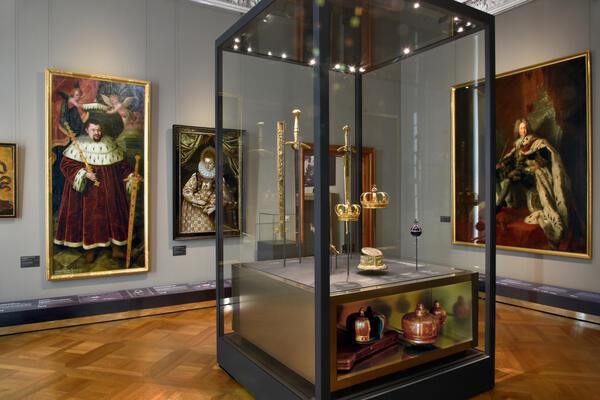 Das preußische Königshaus, Blick in die Ausstellung | © SPSG / Foto: Daniel Lindner