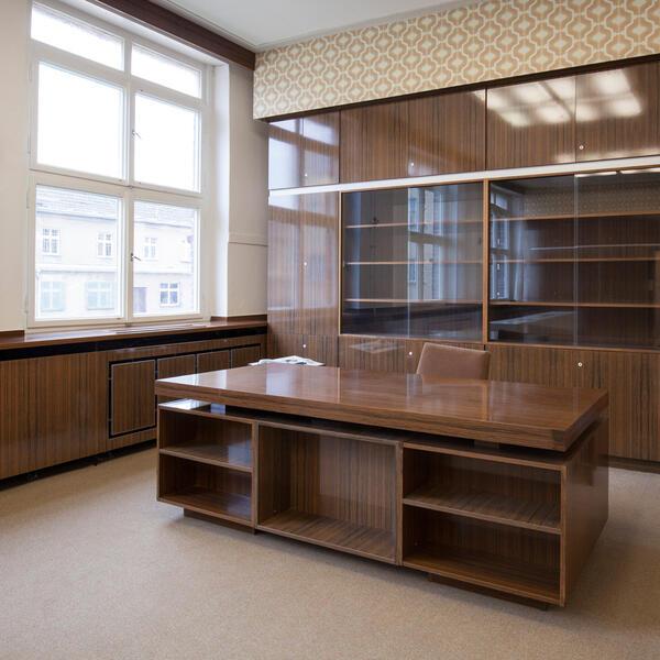 Inhaftiert in Hohenschönhausen, Büro des Gefängnisleiters | © Luise Wagener