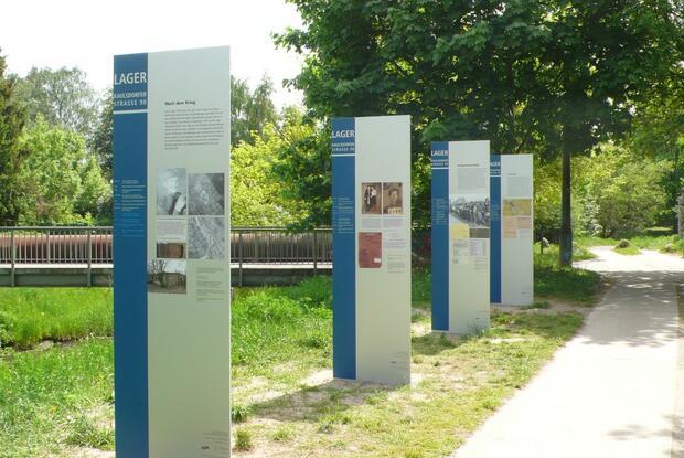 Open-Air-Ausstellung am historischen Ort