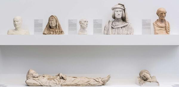 Nah am Leben. 200 Jahre Gipsformerei, Ausstellungsansicht, James-Simon-Galerie, 2019 | © Staatliche Museen zu Berlin / David von Becker