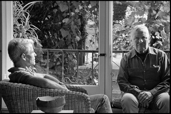 Don Bachardy und Christopher Isherwood | Wayne Shimabukuro