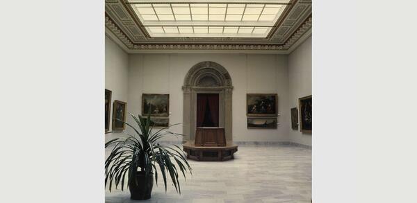 Aufstellung der Gemäldegalerie im Bode-Museum, 1987 | © Staatliche Museen zu Berlin, Zentralarchiv, Fotosammlung
