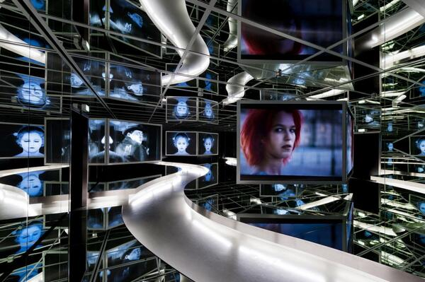 Spiegelsaal der Ständigen Ausstellung im Museum für Film und Fernsehen | Foto: Marian Stefanowski