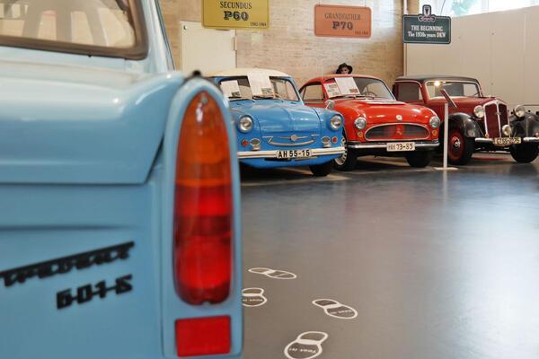 Die Anfänge des Trabis im Trabi-Museum | © East Car Tours GmbH & Co. KG