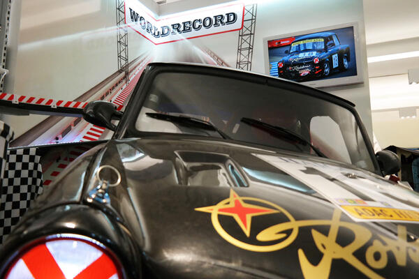 Renntrabi im Trabi-Museum | © East Car Tours GmbH & Co. KG