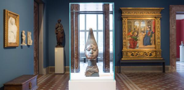 Unvergleichlich: Kunst aus Afrika im Bode-Museum, Ausstellungsansicht   © Staatliche Museen zu Berlin / David von Becker